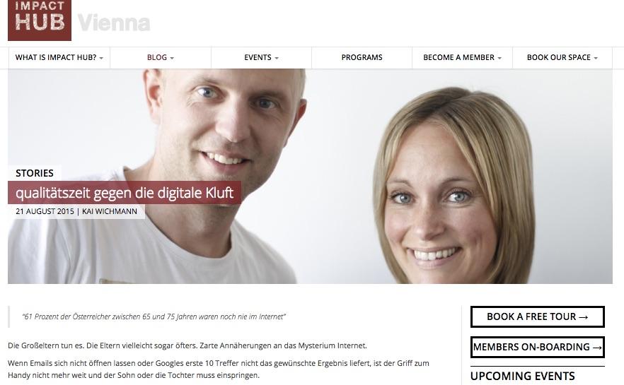 08/2015 Impact Hub Vienna