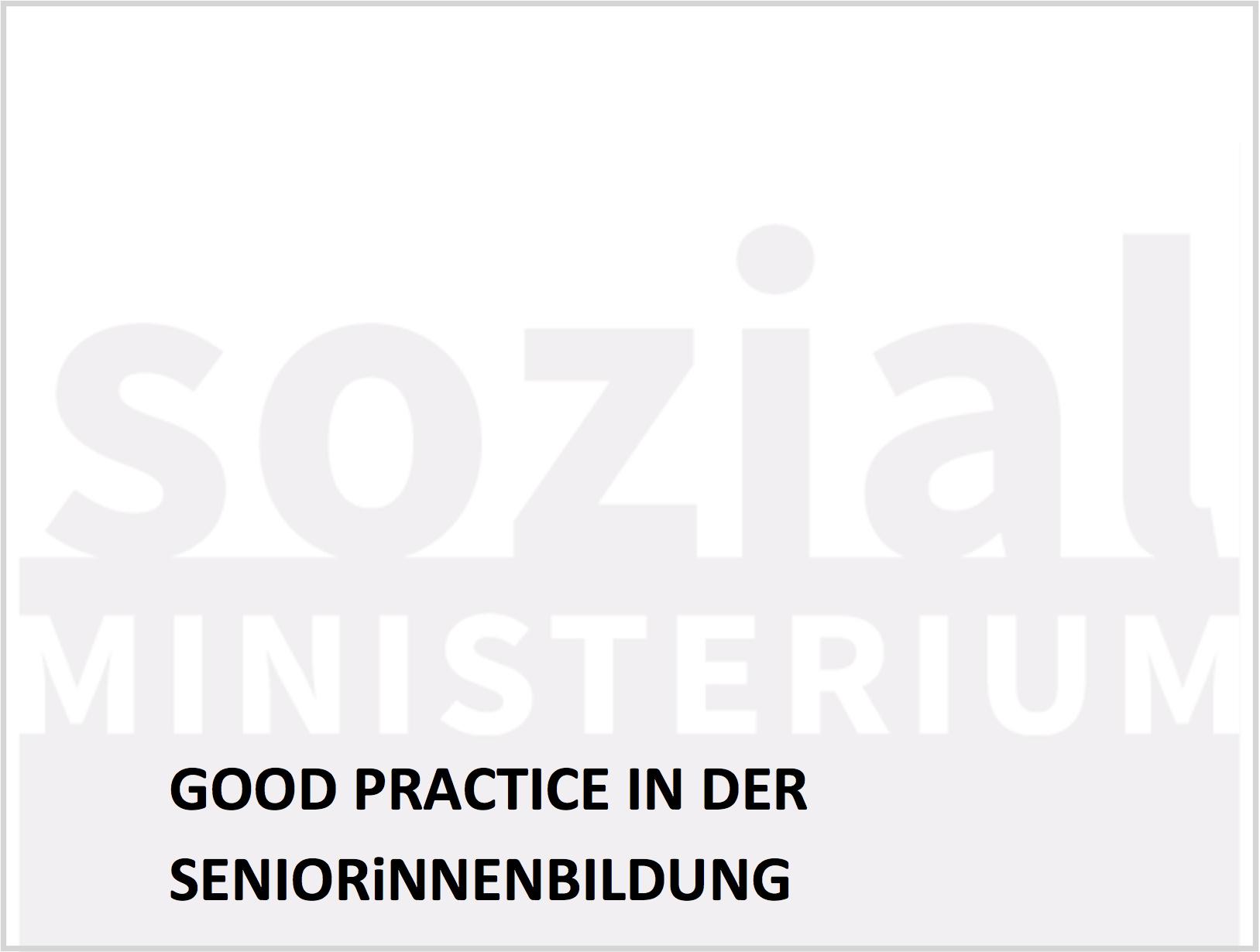 Sozial Ministerium Good Practice 2016